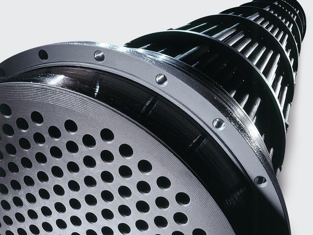 SGL Carbon Shell and Tube Heat Exchanger